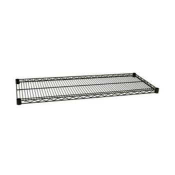 97572 - Focus Foodservice - FF1872G - 18 in x 72 in Green Epoxy Coated Wire Shelf Product Image
