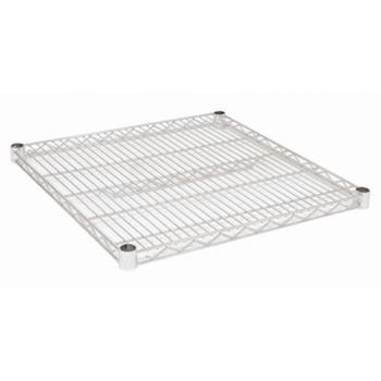 97324 - Focus Foodservice - FF2424C - 24 in x 24 in Chrome Plated Wire Shelf Product Image