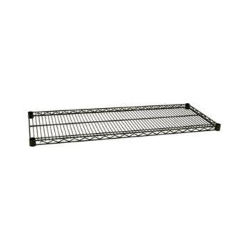 97736 - Focus Foodservice - FF2436G - 24 in x 36 in Green Epoxy Coated Wire Shelf Product Image