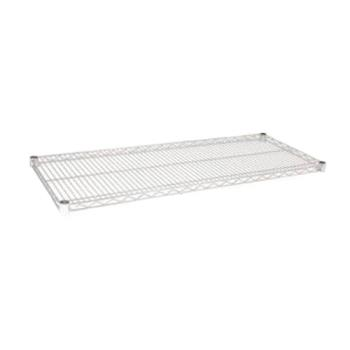 97342 - Focus Foodservice - FF2442C - 24 in x 42 in Chrome Plated Wire Shelf Product Image