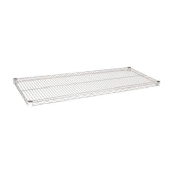 97348 - Focus Foodservice - FF2448C - 24 in x 48 in Chrome Plated Wire Shelf Product Image