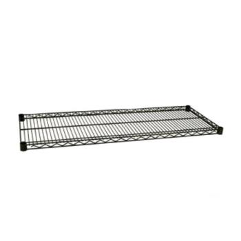 97748 - Focus Foodservice - FF2448G - 24 in x 48 in Green Epoxy Coated Wire Shelf Product Image