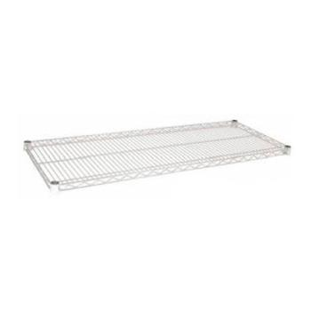 97372 - Focus Foodservice - FF2472C - 24 in x 72 in Chrome Plated Wire Shelf Product Image