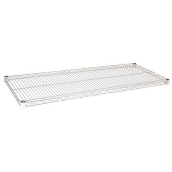97242 - Winco - VC-1842 - 18 in x 42 in Chrome Plated Wire Shelf Product Image
