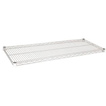 97272 - Winco - VC-1872 - 18 in x 72 in Chrome Plated Wire Shelf Product Image
