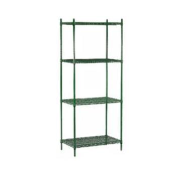 98748 - Commercial - 24 in x 48 in (4) Shelf Epoxy Coated Shelving Unit Product Image