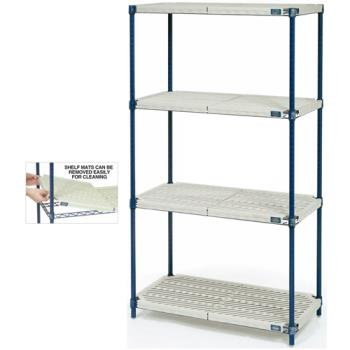 "NEXPM24428N - Nexel Industries - PM24428N - Nexelite™ 24"" x 42"" x 86"" Shelving Unit Product Image"