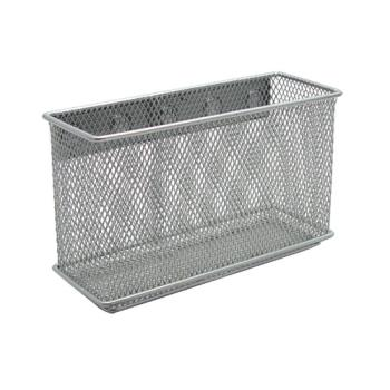 86515 - Commercial - 6 in x 2 in x 3 1/2 in Mesh Wire Bin w/ Magnet Product Image