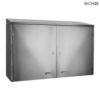 Glastender wch72 72 wall cabinet w doors etundra for Kitchen cabinets 72