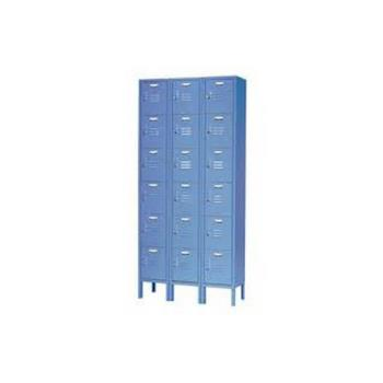 NEXP6128ASG - Nexel Industries - P6128AS-G - Six Tier Gray Paramount Locker Product Image
