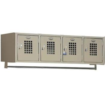 WHEWL4 - Win Holt - WL-4 - 4 Compartment Wall Mounted Locker Product Image