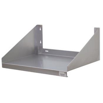 ADVMS2424ECX - Advance Tabco - MS-24-24-EC-X - 24 in x 24 in Stainless Steel Wall-Mount Microwave Shelf Product Image