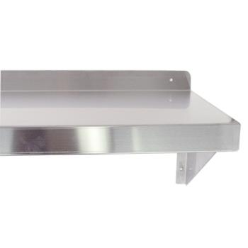 51266 - Turbo Air - TSWS-1424 - 24 in x 14 in Stainless Steel Wall Mount Shelf Product Image