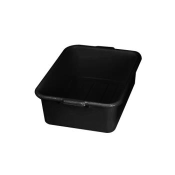 76427 - Tablecraft - 1537B - 21 1/4 in x 15 3/4 in Black Bus Box Product Image