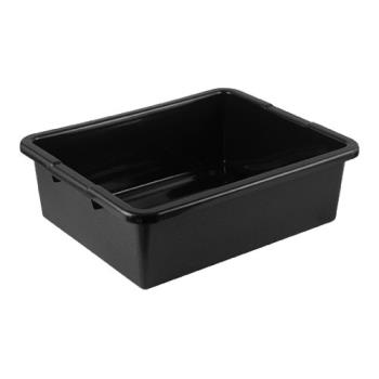78557 - Tablecraft - 1557B - 22 in x 15 in Black  Bus Box Product Image