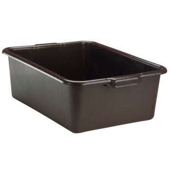 VOL152731 - Vollrath - 1527-31 - 21 3/4 in x 15 1/2 in x 7 in Gray Bus Tub Product Image