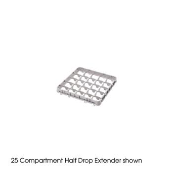 CAM49E2151 - Cambro - 49E2151 - Camrack® 49-Section Half Drop Extender Product Image