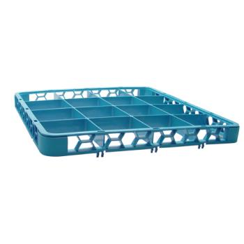 67144 - Carlisle - RE1614 - 16 Compartment OptiClean™ Glass Rack Extender Product Image