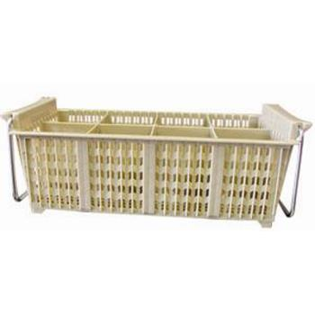 WINPCB8 - Winco - PCB-8 - 8-Section Cutlery Basket Product Image