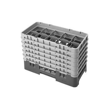 CAM10HS1114151 - Cambro - 10HS1114151 - 10 Compartment 11 3/4 in Camrack® Glass Rack Product Image