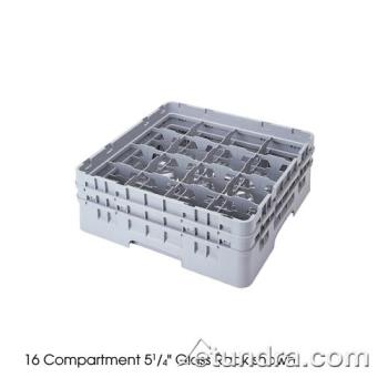 CAM16S1214151 - Cambro - 16S1214151 - Camrack® 16 Section 12 5/8 in Glass Rack Product Image