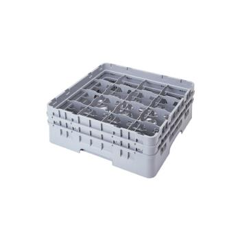 CAM16S418151 - Cambro - 16S418151 - 16 Compartment 4 1/2 in Camrack® Glass Rack Product Image