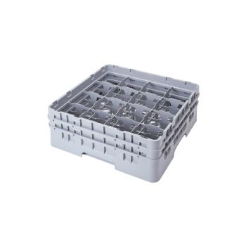 CAM16S434151 - Cambro - 16S434151 - 16 Compartment 5 1/4 in Camrack® Glass Rack Product Image