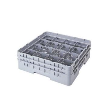 CAM16S534151 - Cambro - 16S534151 - Camrack 16 Section 6 1/8 in Glass Rack Product Image