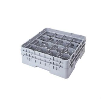 75101 - Cambro - 16S800151 - 16 Compartment 8 1/2 in Camrack® Glass Rack Product Image