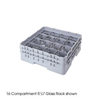 CAM16S958151 - Cambro - 16S958151 - Camrack® 16 Section 10 1/8 in Glass Rack Product Image