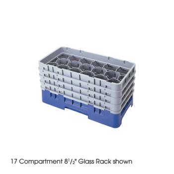 CAM17HS434151 - Cambro - 17HS434151 - 17 Compartment 5 1/4 in Camrack® Glass Rack Product Image