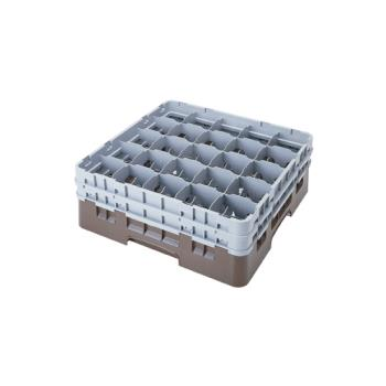 75301 - Cambro - 25S534151 - 25 Compartment 6 1/8 in Camrack® Glass Rack Product Image
