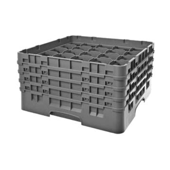 CAM25S800151 - Cambro - 25S800151 - 25 Compartment 8 1/2 in Camrack® Glass Rack Product Image
