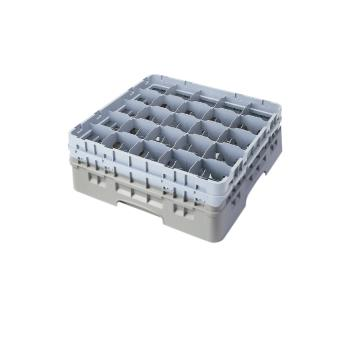 CAM25S900151 - Cambro - 25S900151 - 25 Compartment 9 3/8 in Camrack® Glass Rack Product Image