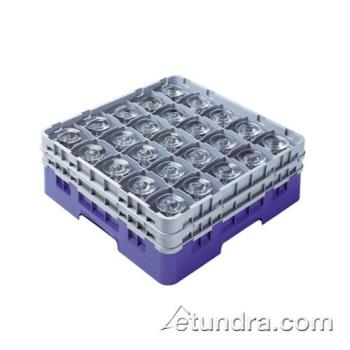 76455 - Cambro - 25S900167 - 25 Compartment 9 3/8 in Camrack® Glass Rack Product Image