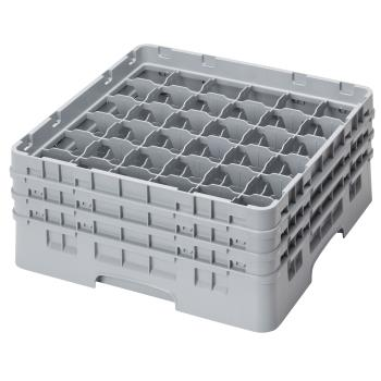 CAM36S638151 - Cambro - 36S638151 - 36 Compartment 6 7/8 in Camrack® Glass Rack Product Image