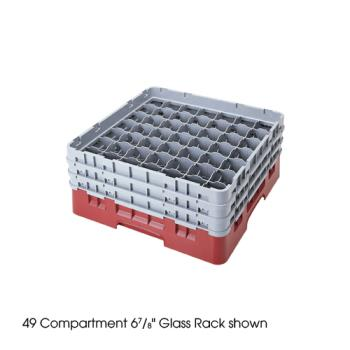 CAM49S434151 - Cambro - 49S434151 - Camrack® 49 Section 5 1/4 in Glass Rack Product Image