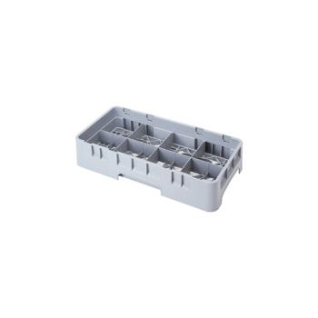 CAM8HC258151 - Cambro - 8HC258151 - 8 Compartment 2 5/8 in Camrack® Glass Rack Product Image