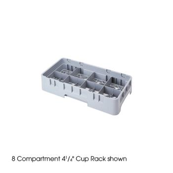 CAM8HC414151 - Cambro - 8HC414151 - 8 Compartment 4 1/4 in Camrack® Glass Rack Product Image