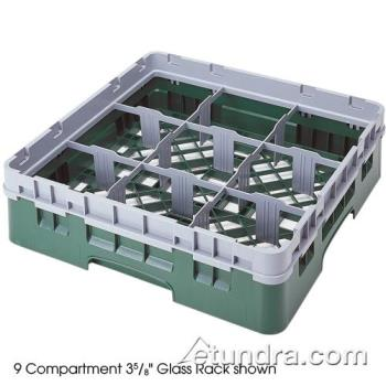 76496 - Cambro - 9S800151 - 9 Section 8 1/2 in Camrack® Glass Rack Product Image