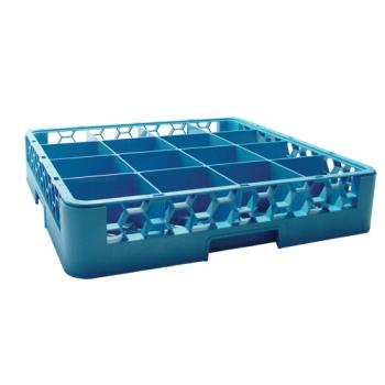 67140 - Carlisle - RG1614 - 16 Compartment OptiClean™ Glass Rack Product Image