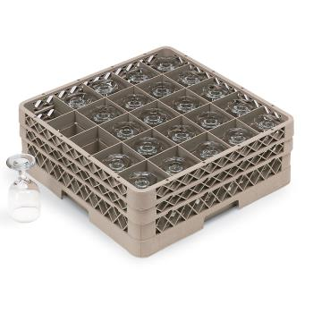 VOLTR6BB - Vollrath - TR6BB - 25 Compartment Traex® Glass Rack Product Image