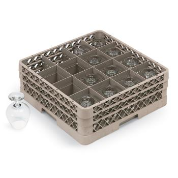 VOLTR8D - Vollrath - TR8D - 16 Compartment Traex® Glass Rack Product Image