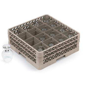 VOLTR8DD - Vollrath - TR8DD - 16 Compartment Traex® Glass Rack Product Image