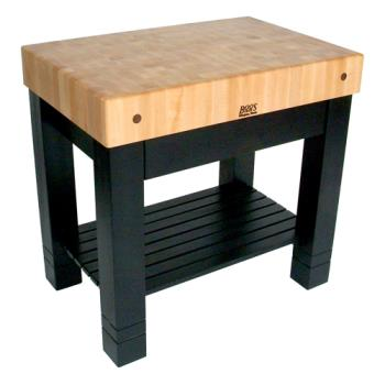 "JHBHMST36245BK - John Boos - HMST36245-BK - 36"" Black Maple Homestead Block Product Image"