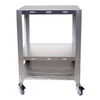 CDOOVHDS - Cadco - OV-HDS - Half And Quarter Size Heavy Duty 2 Oven Stand With Wheels Product Image