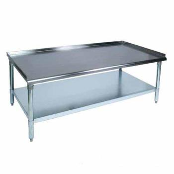 "JHBEES83072 - John Boos - EES8-3072 - E Series 30"" x 72"" Stainless Steel Equipment Stand Product Image"