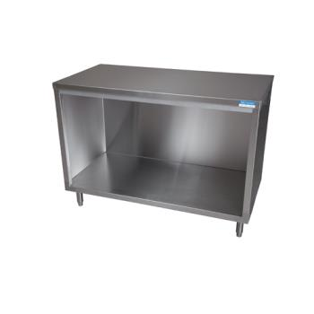 99242 - BK Resources - BKDC-2460 - 60 in x 24 in S/S Work Table w/out Sliding Doors Product Image