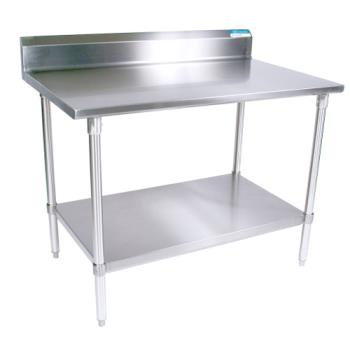 BKRVTTR57224 - BK Resources - VTTR5-7224 - 24 In x 72 in Stainless Steel Work Table Product Image