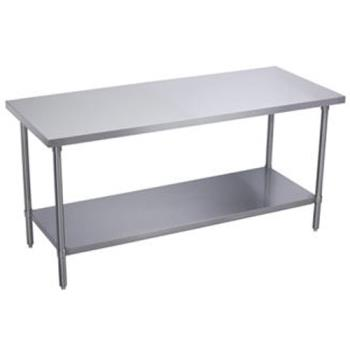 95343 - Elkay - WT30S72-STGX - 30 x 72 in Heavy Duty Stainless Steel Work Table Product Image